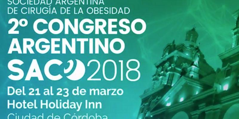 Participación en el 2do. Congreso de SACO, Córdoba, Argentina.