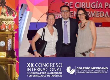 Asistimos al XX Congreso Mexicano de Cirugía Bariátrica y Metabólica
