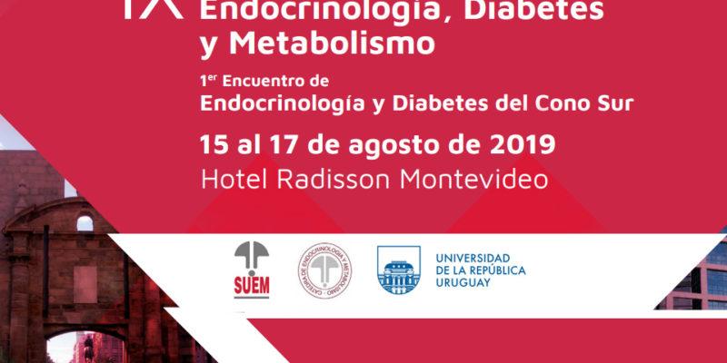 Se desarrolló el IX Congreso Uruguayo de Endocrinología, Diabetes y Metabolismo